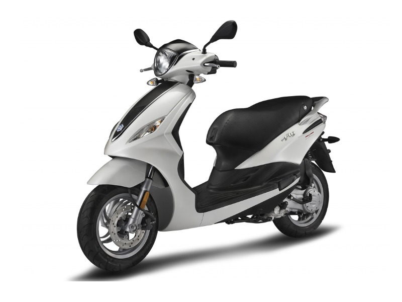 piaggio fly 50 4v scooters of palm beach. Black Bedroom Furniture Sets. Home Design Ideas